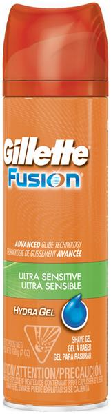 Gillette Fusion Ultra Sensitive Shave Gel