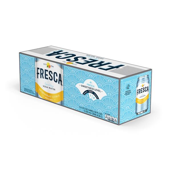 Fresca Citrus Soda 12 Pack