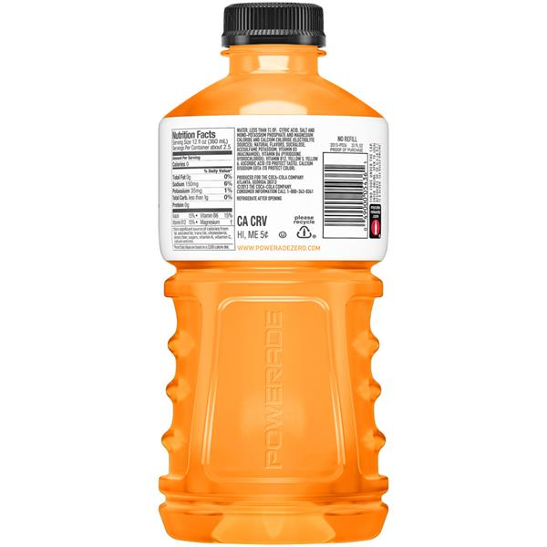 Powerade ION4 Zero Orange