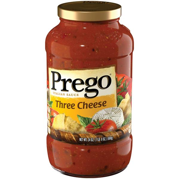 Prego Three Cheese Italian Sauce