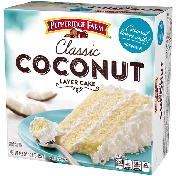Pepperidge Farm Coconut Layer Cake