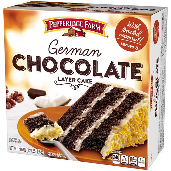 Pepperidge Farm Chocolate Cake Nutrition Facts
