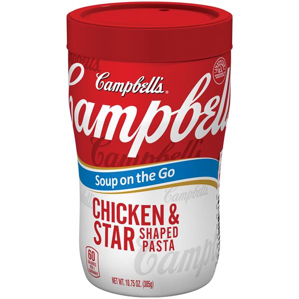 Campbell's Soup on the Go Chicken & Star Shaped Pasta