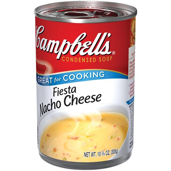 Campbell's Fiesta Nacho Cheese Condensed Soup