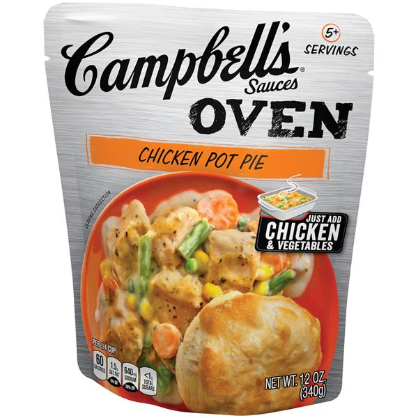 Campbell's Oven Sauces Chicken Pot Pie