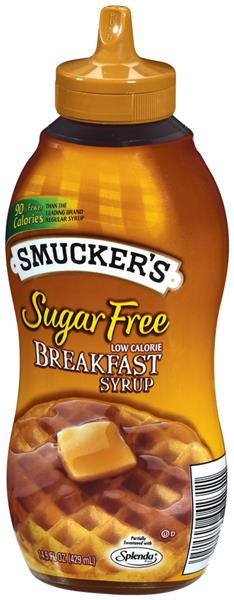 Smucker's Sugar Free Low Calorie Breakfast Syrup