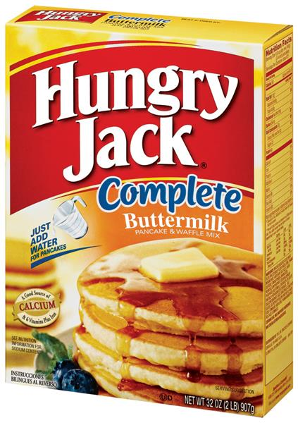 Hungry Jack Complete Buttermilk Pancake & Waffle Mix