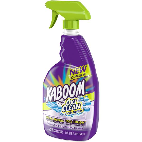 Kaboom OxiClean Stain Fighters Shower, Tub, & Tile Bathroom Cleaner