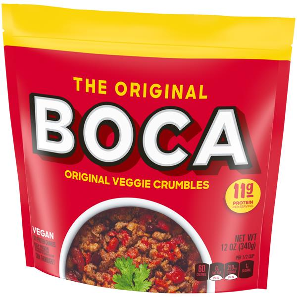 Boca Veggie Ground Crumbles