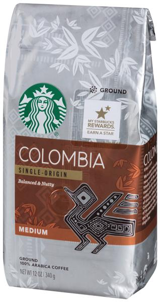 Colombia Single-Origin Balanced & Nutty Medium Coffee