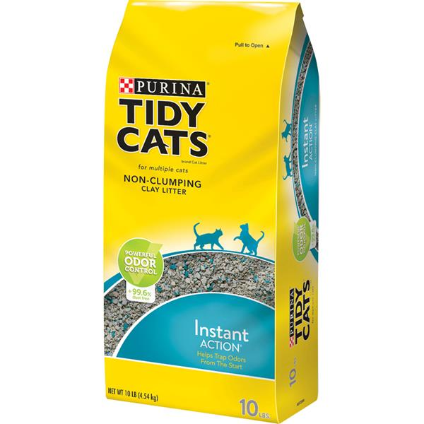 Purina Tidy Cats Non-Clumping Litter Instant Action for Multiple Cats