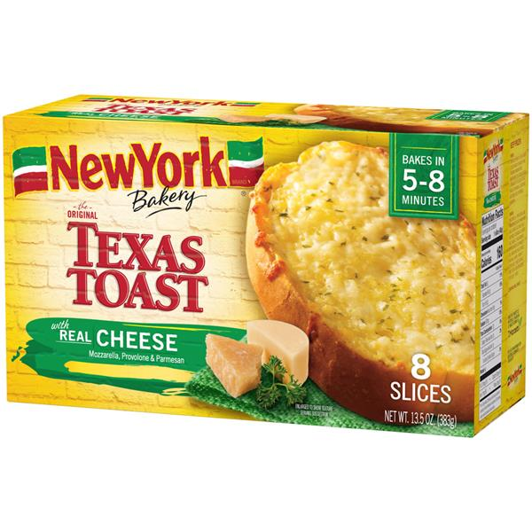 New York Brand Bakery The Original Texas Toast with Real Cheese 8Ct