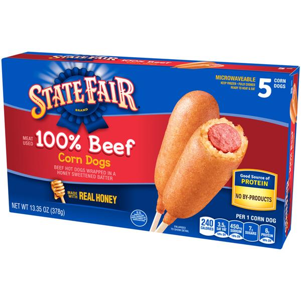 State Fair Beef Corn Dogs 5Ct
