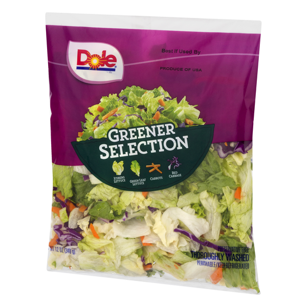 Dole Salad Mix Greener Selection