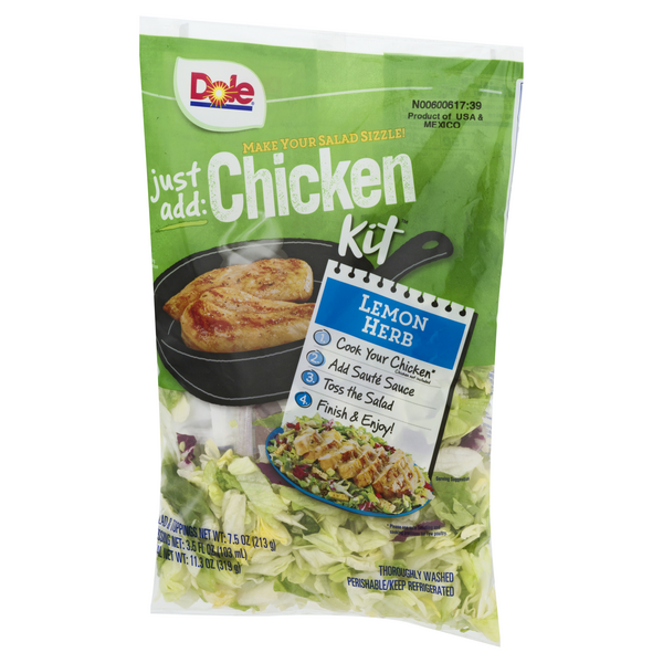 Dole Just Add Chicken Kit Lemon Herb