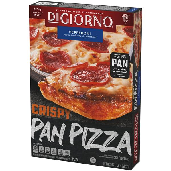 DiGiorno Crispy Pan Pizza Pepperoni