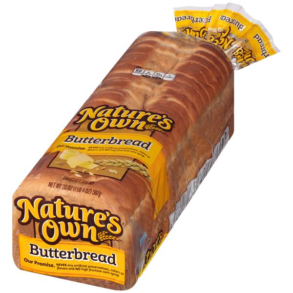 Nature S Own  Whole Grain Bread Ingredients