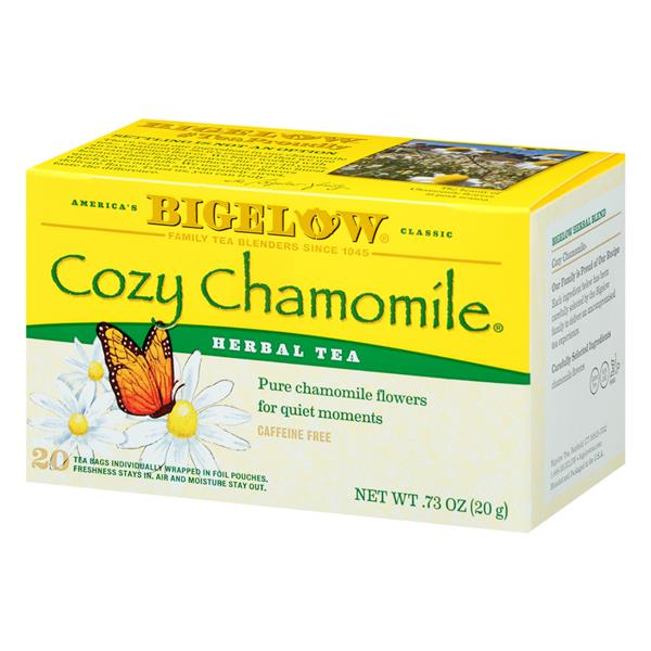 Bigelow Cozy Chamomile Herbal Tea 20 Count