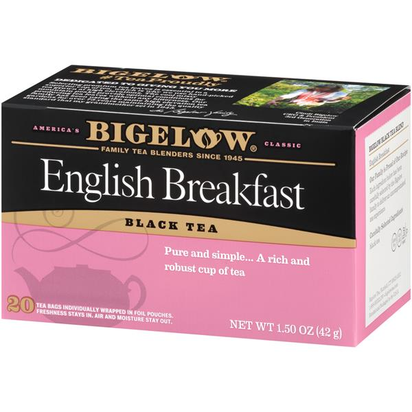 Bigelow English Breakfast Black Tea 20Ct Bags