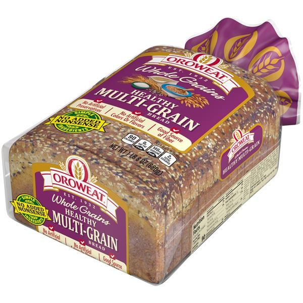 Oroweat Whole Grains Healthy Multigrain Bread 24 Oz
