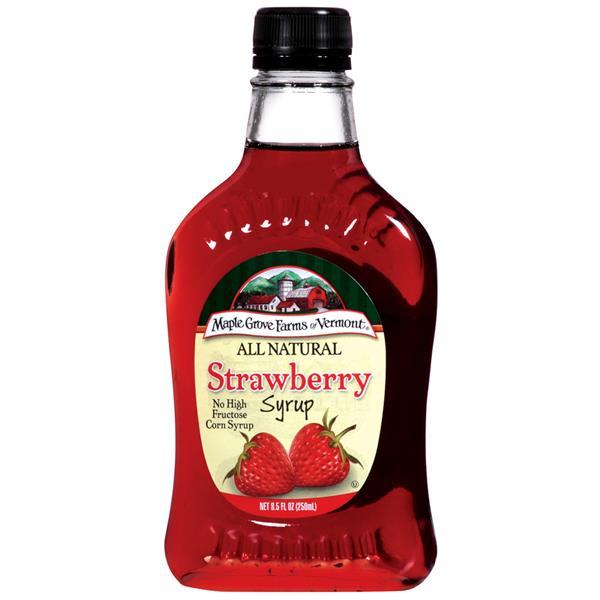 Maple Grove Farms Strawberry Syrup