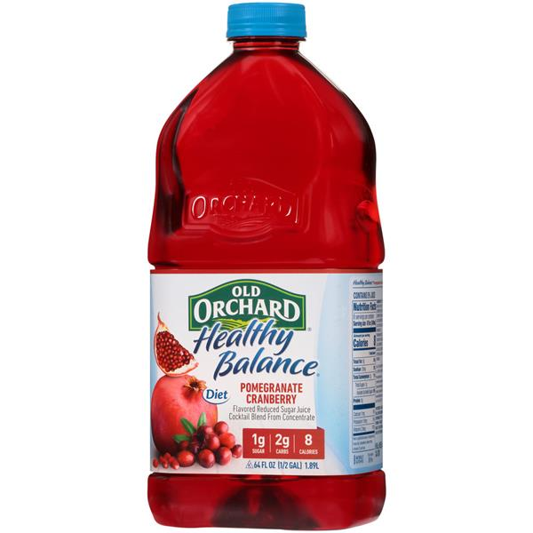 Old Orchard Healthy Balance Pomegranate Cranberry Juice Cocktail