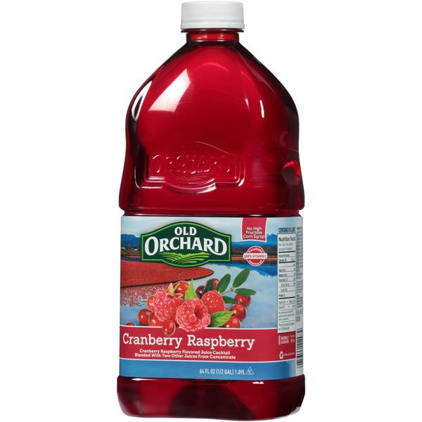 Old Orchard Cranberry Raspberry Juice Cocktail