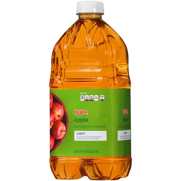 Hy-Vee Light Apple Juice Cocktail