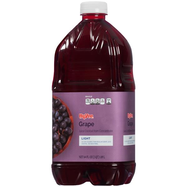 Hy-Vee Light Grape Juice Cocktail