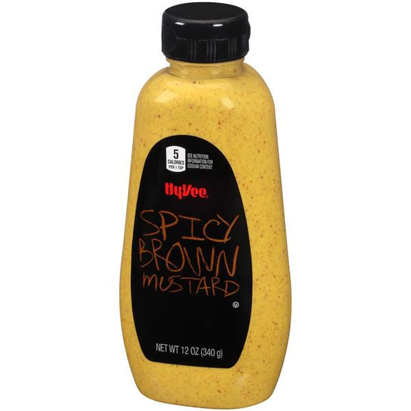 Hy-Vee Spicy Brown Mustard