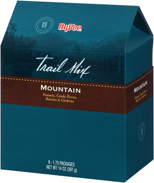 Hy-Vee Mountain Trail Mix 8-1.75 oz Packages