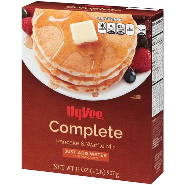 Hy-Vee Complete Pancake & Waffle Mix