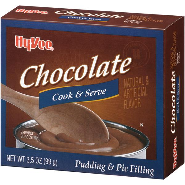 Hy-Vee Chocolate Instant Sugar Free Fat Free Pudding