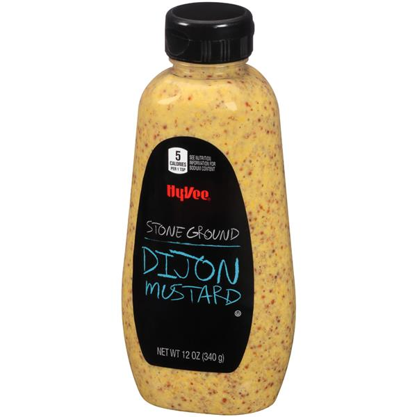 Hy-Vee Stone Ground Dijon Mustard