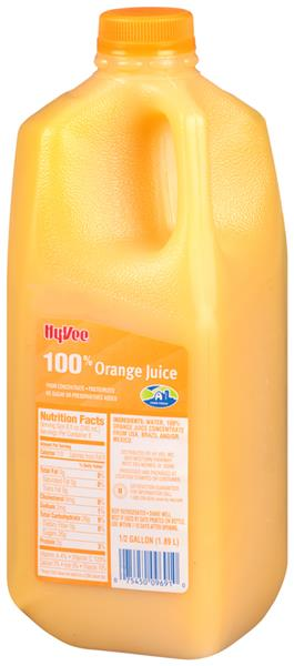 Hy-Vee 100% Orange Juice