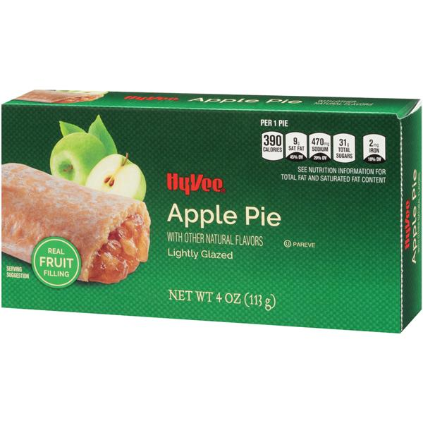 Hy-Vee Lightly Glazed Apple Pie