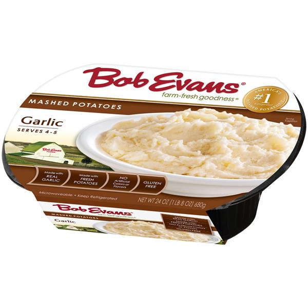 Bob Evans Garlic Mashed Potatoes