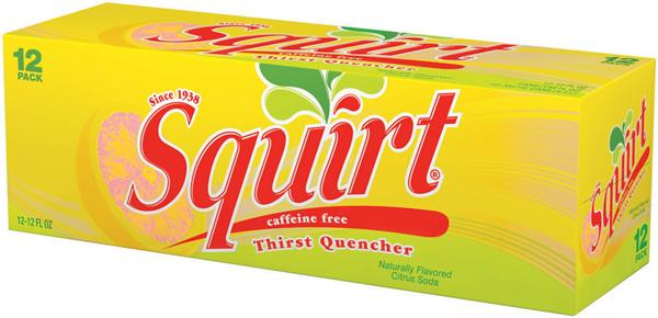 Squirt Citrus Soda 12 Pack