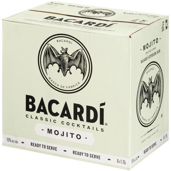 Bacardi Classic Cocktails Mojito Cocktail