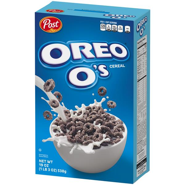 Post Oreo O&#39s Cereal