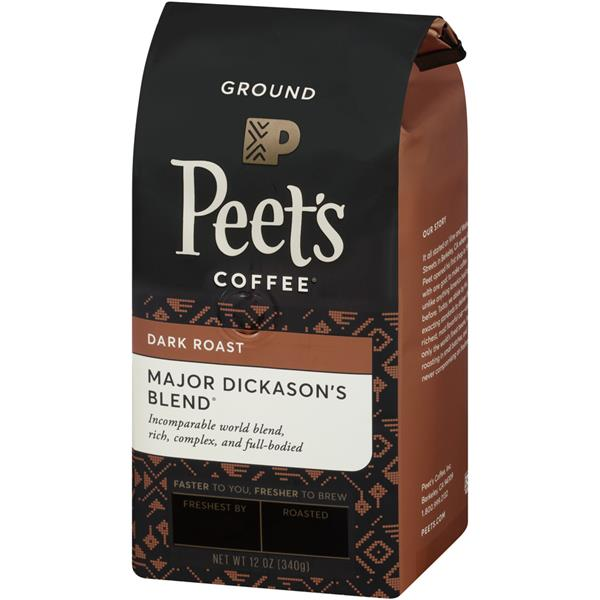 Peet's Coffee Major Dickason's Blend Dark Roast Ground