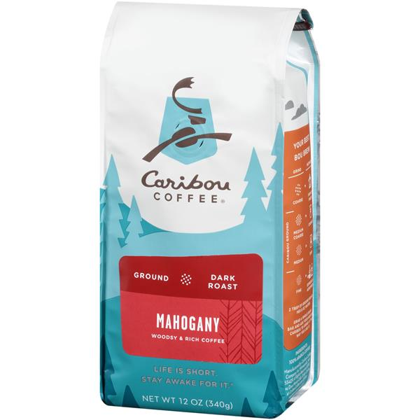 Caribou Coffee Mahogany Dark Roast Ground Coffee