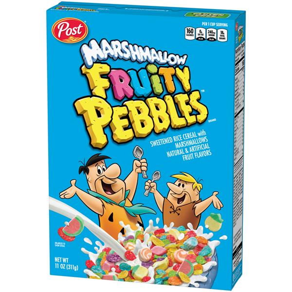 Post Marshmallow Fruity Pebbles Cereal