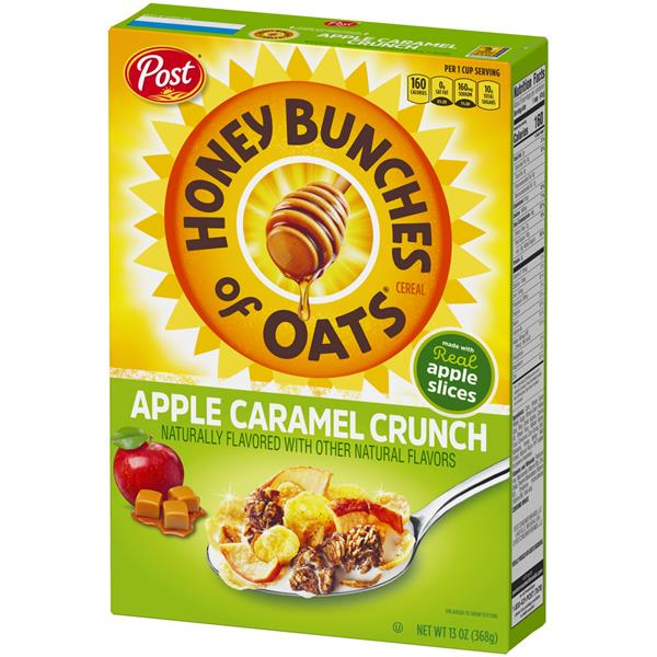 Post Honey Bunches of Oats Apple Caramel Crunch Cereal
