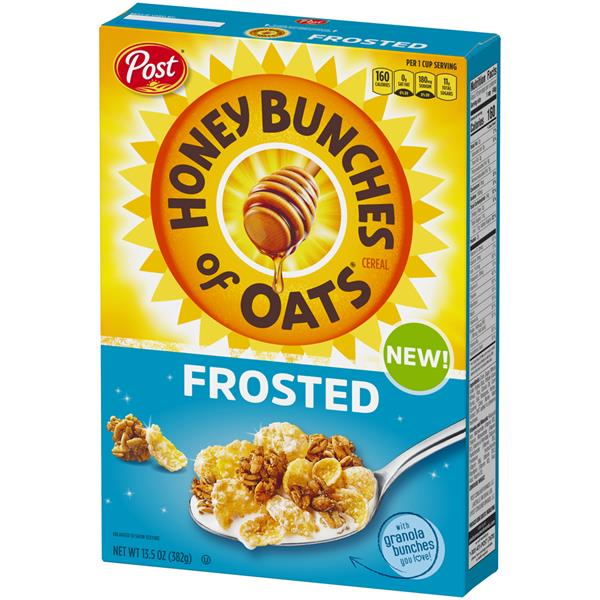 Post Honey Bunches of Oats Frosted Cereal